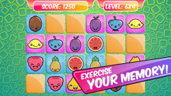 MatchUp Fruits Memory Game screenshot 2/5