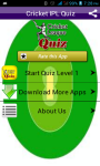 Cricket Quiz on IPL Sports screenshot 1/6