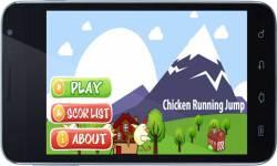 chicken running jump screenshot 1/4