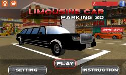 3D Limousine Car Parking screenshot 1/5