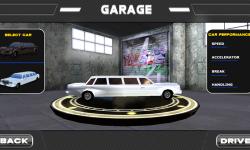 3D Limousine Car Parking screenshot 2/5