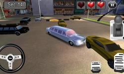 3D Limousine Car Parking screenshot 3/5