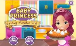 Princess cooking Pumpkin Tart screenshot 1/3