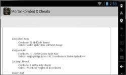 Mortal Kombat X Cheats screenshot 3/3
