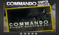 Commando Sniper Shooter 3D screenshot 1/5