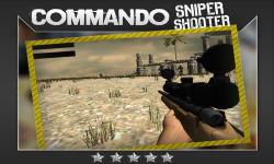 Commando Sniper Shooter 3D screenshot 3/5