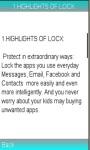 LOCX App Lock Photo Safe Vault Info screenshot 1/1