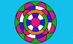 Coloring Mandalas funny screenshot 4/4