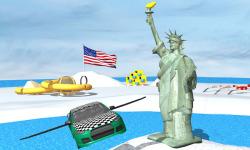 Flying Car Stunt n Demolition screenshot 1/3