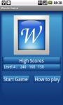 WordsGame screenshot 1/3