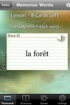 Memorize Words for French Free screenshot 1/1