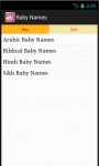 BabyName screenshot 2/4