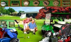 Free Hidden Objects Game - Great Golf screenshot 3/4