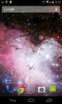Shadow Galaxy Live Wallpaper screenshot 4/5