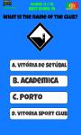 Portugal Football Logo Quiz screenshot 4/5