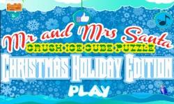 Mr and Mrs Santa - Christmas Crush Ice Soda Puzzle screenshot 1/4