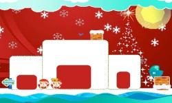 Mr and Mrs Santa - Christmas Crush Ice Soda Puzzle screenshot 2/4