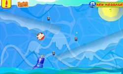 Mr and Mrs Santa - Christmas Crush Ice Soda Puzzle screenshot 3/4