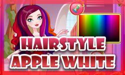 Apple White Haircuts Game screenshot 3/4