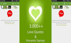 Free 4000 love quotes and romantic sayings screenshot 2/6