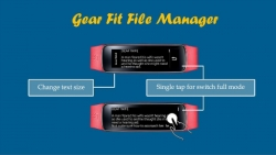 Gear Fit File Manager specific screenshot 4/6