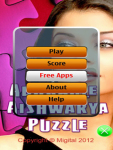 Adorable Aishwarya Puzzle Free screenshot 2/6