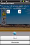 Reboot Now Widget screenshot 3/5