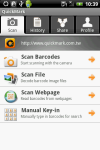 QuickMark QR Code Reader screenshot 3/6