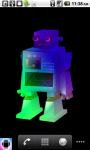 Robot Live Wallpaper Free screenshot 2/4