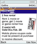 Cellfire - FREE Coupons for your Nokia 9300 screenshot 1/1