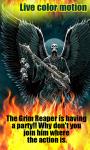Rocking Reaper Flames LWP free screenshot 1/3