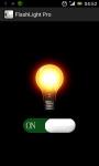 Phone FlashLight Pro screenshot 2/4
