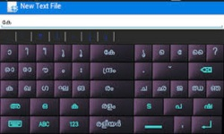 ANDROID MALAYALAM KEYBOARD 2014 screenshot 2/3