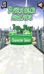 Parkour Arcade screenshot 1/3