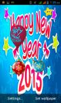 Happy New Year 2015 Live WallPaper screenshot 3/6