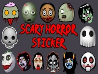 Scary Horror Sticker screenshot 1/4