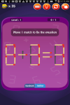 Matches Puzzle Deluxe screenshot 3/5