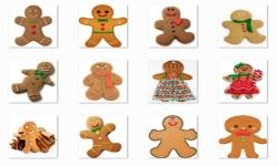 Christmas Gingerbread Onet Classic Game screenshot 1/3