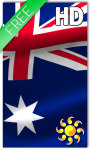 Australia Flag LWP screenshot 1/2