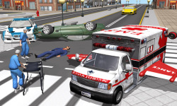 Multilevel Flying Ambulance HD screenshot 2/5