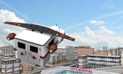 Multilevel Flying Ambulance HD screenshot 3/5