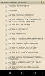 THE 1987 Philippine Constitution screenshot 3/4