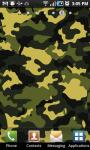 Camouflage Print Live Wallpaper screenshot 2/2