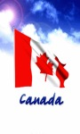 Canada Flagg Live Wallpaper screenshot 3/6