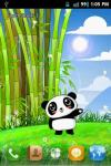 Panda Pet LWP Free screenshot 1/6