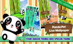 Panda Pet LWP Free screenshot 4/6