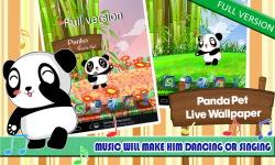 Panda Pet LWP Free screenshot 5/6