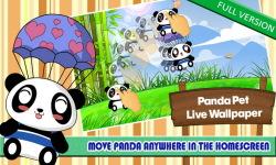 Panda Pet LWP Free screenshot 6/6