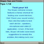 Skype Tips and Tricks screenshot 4/4