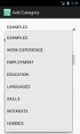 Resume Builder Free screenshot 6/6